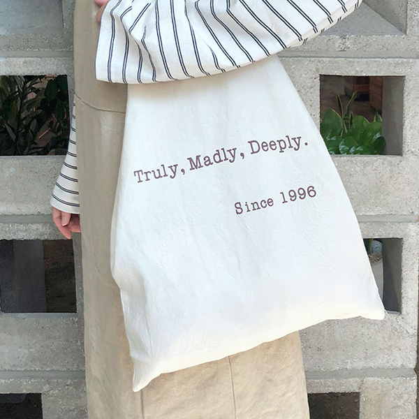 Truly Madly Deeply エコバッグ
