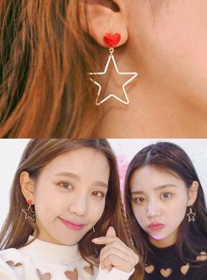 마이 리틀 스타 earring
