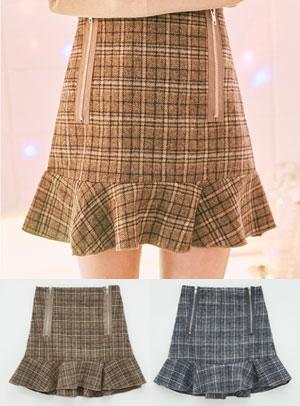 지퍼 열면 큰일나 skirt